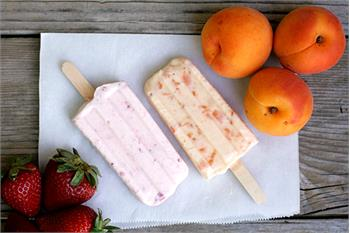 Apricot Honey Popsicles