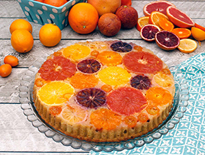 Winter Citrus Upside Down Cake