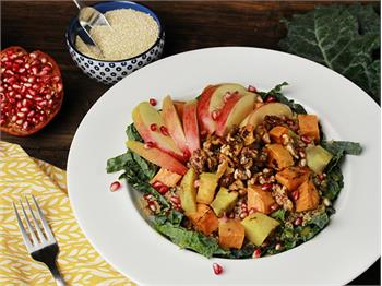 Apple and Sweet Potato Quinoa Bowl