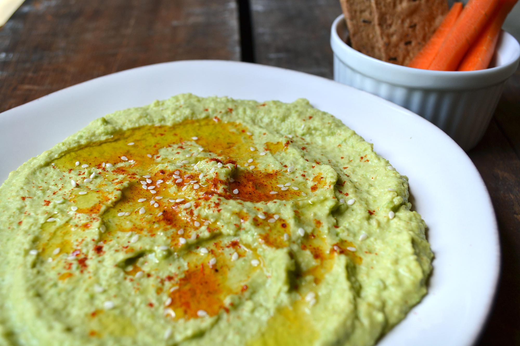 Fresh Garbanzo Bean Hummus