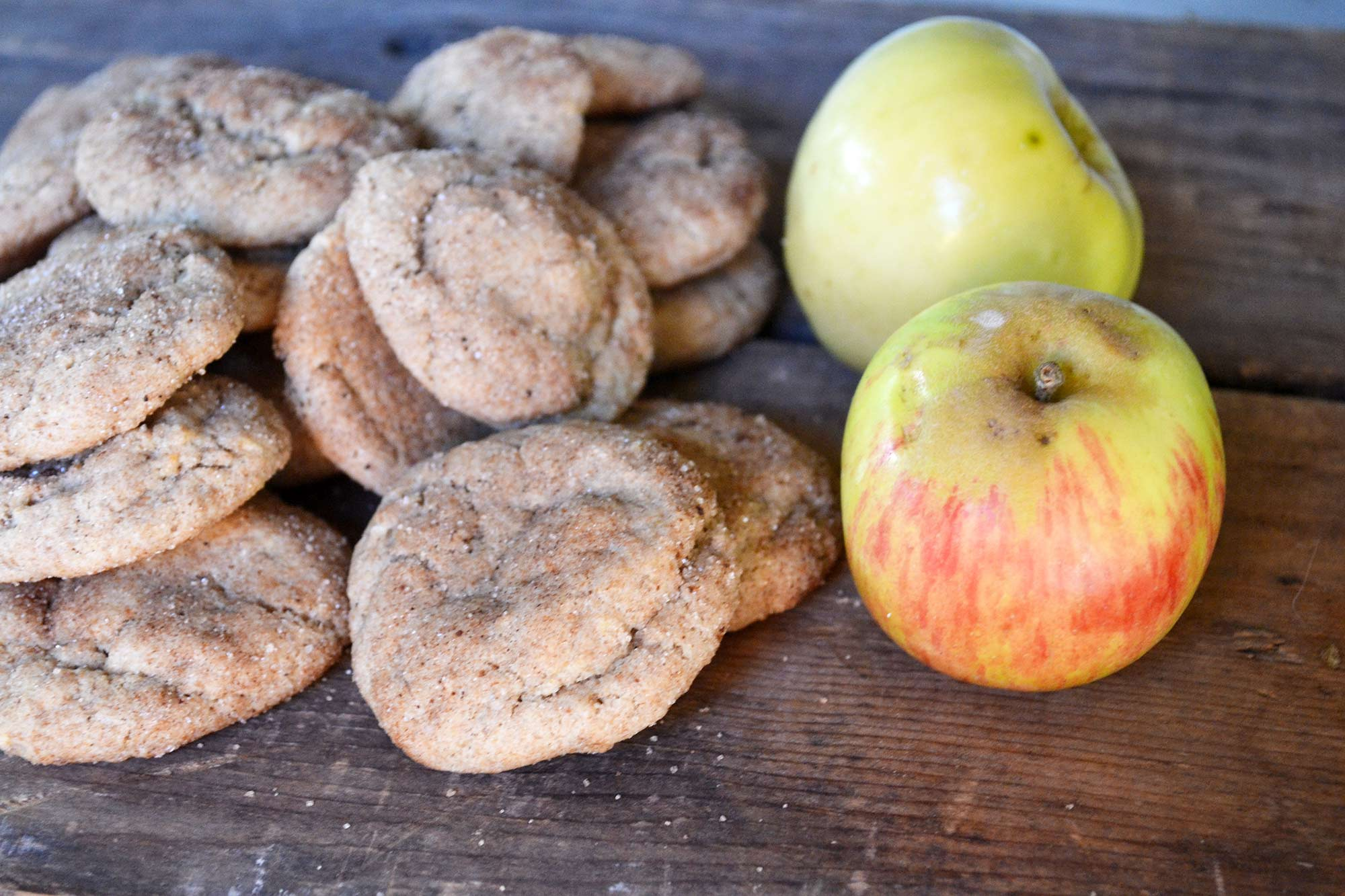 Grated Apple Cookies