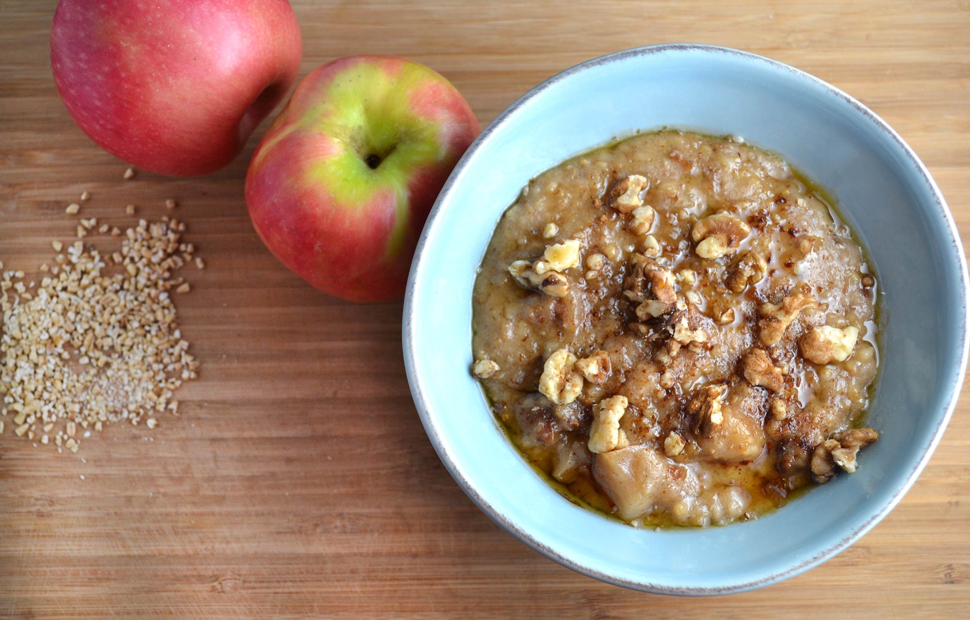Crockpot Cinnamon Apple Oatmeal