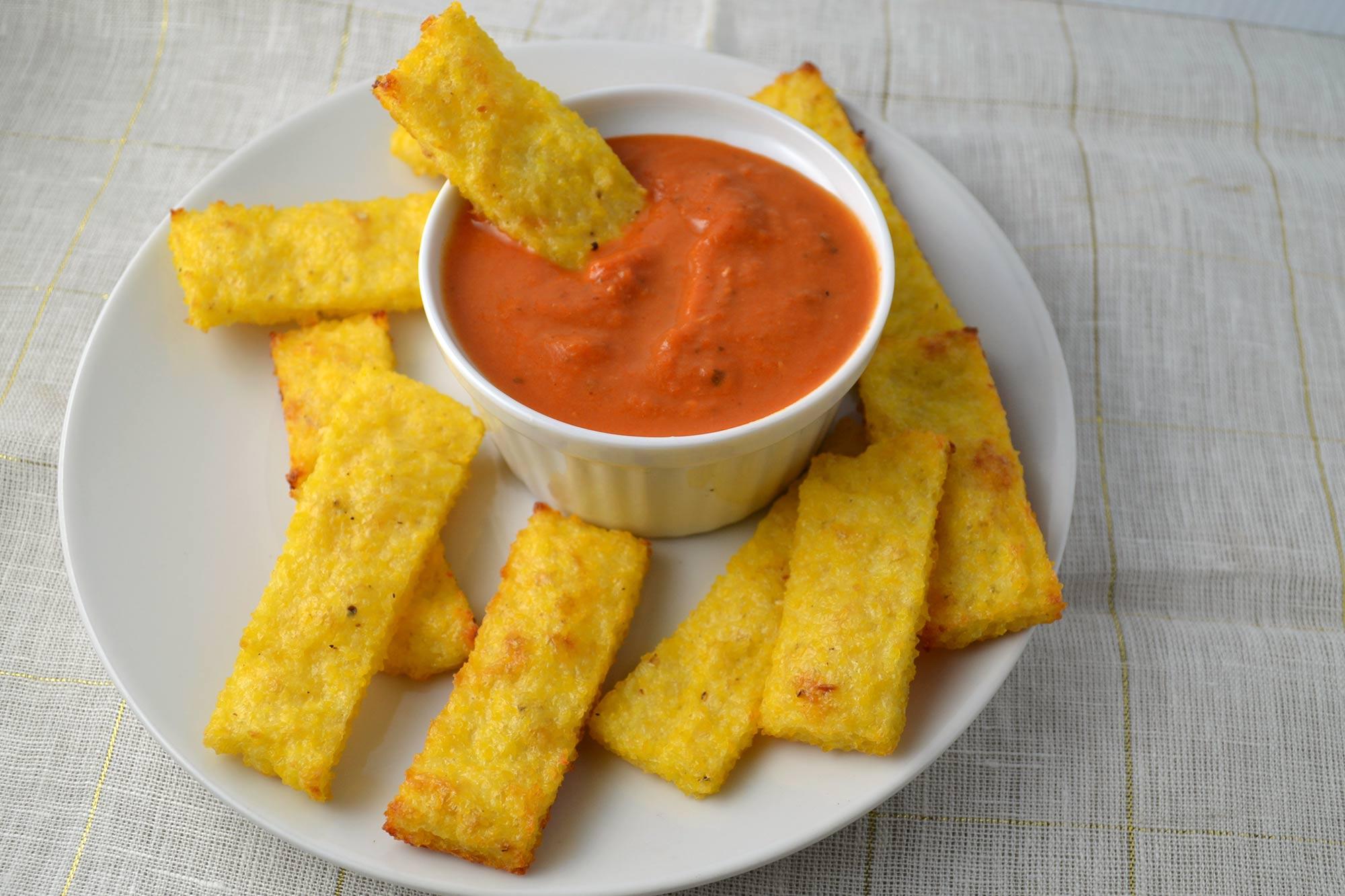 Farm Fresh To You Recipe Baked Polenta Fries