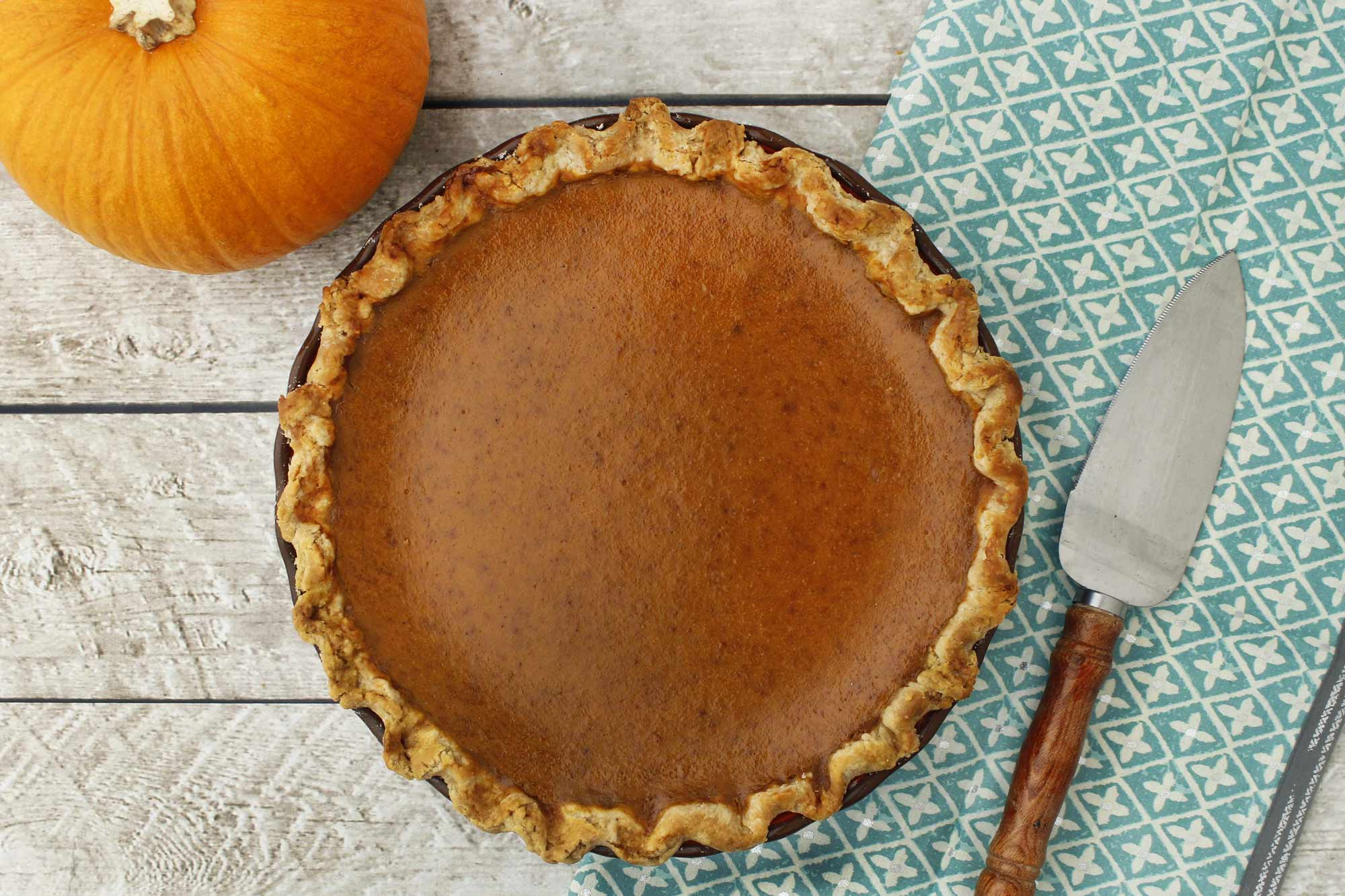 Rustic Pumpkin Pie