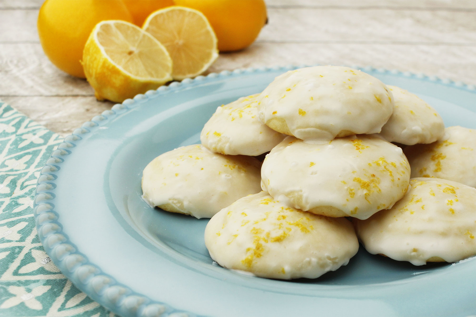 Farm Fresh To You - Recipe: Meyer Lemon Ricotta Cookies