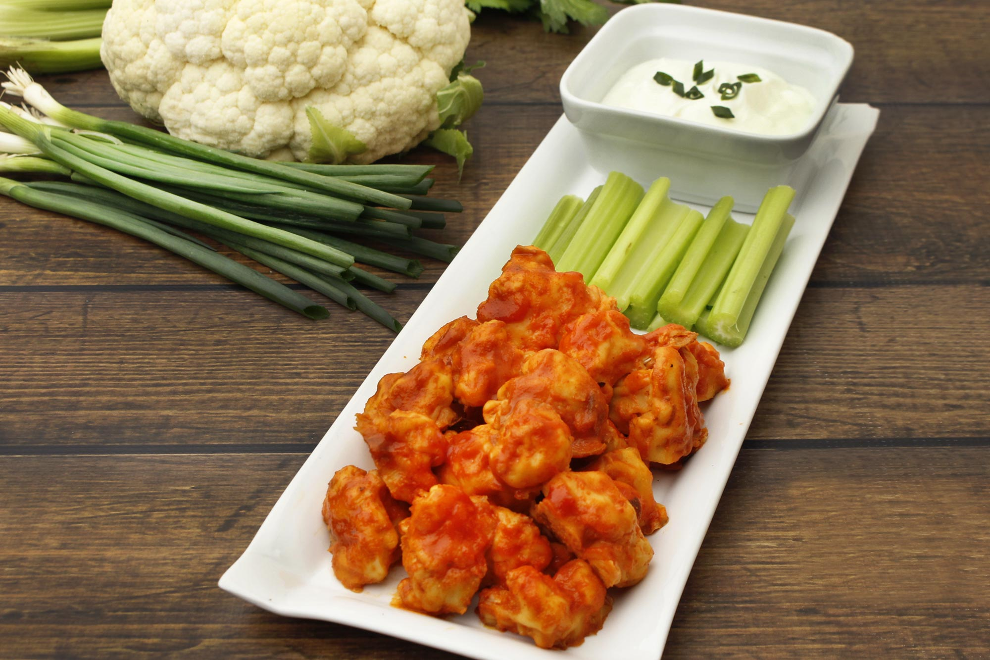 Farm Fresh To You Recipe Crispy Cauliflower Buffalo Quot Wings Quot