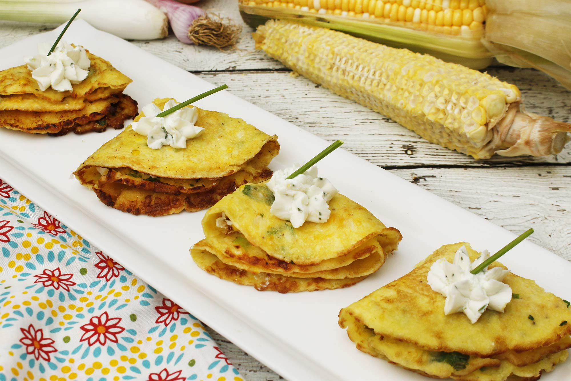 Farm Fresh To You - Recipe: Fresh Corn Crepes with Goat Cheese