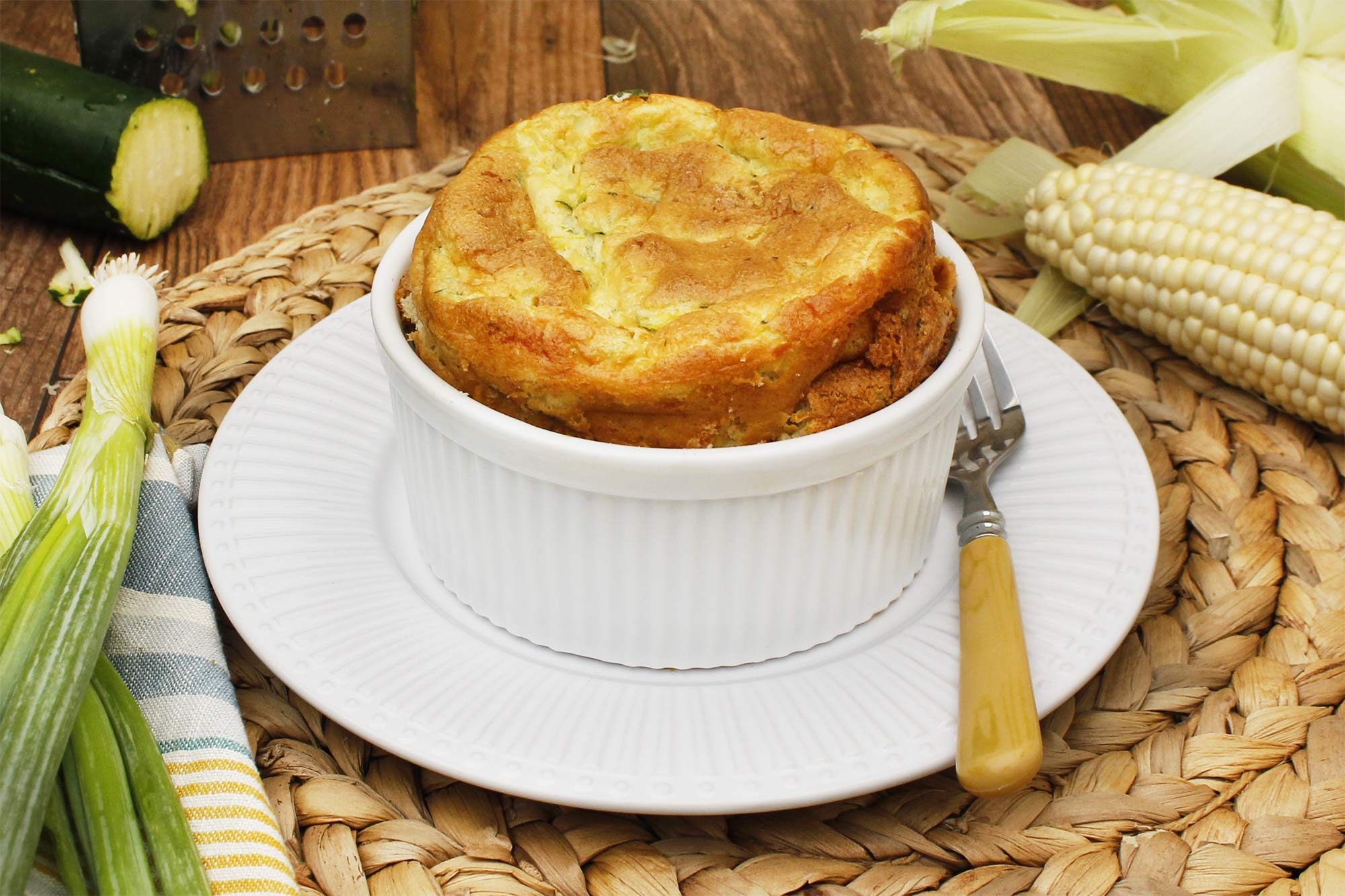 Souffle of zucchini. Cooking recipes 41