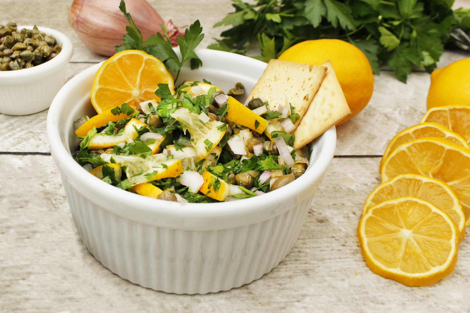 Farm Fresh To You Recipe Meyer Lemon Salsa Verde