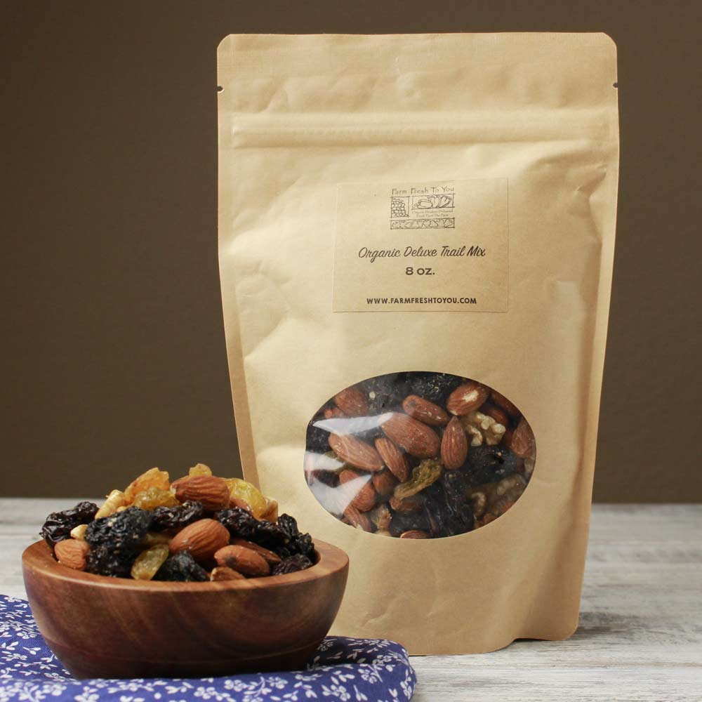Organic Fruity Deluxe Trail Mix