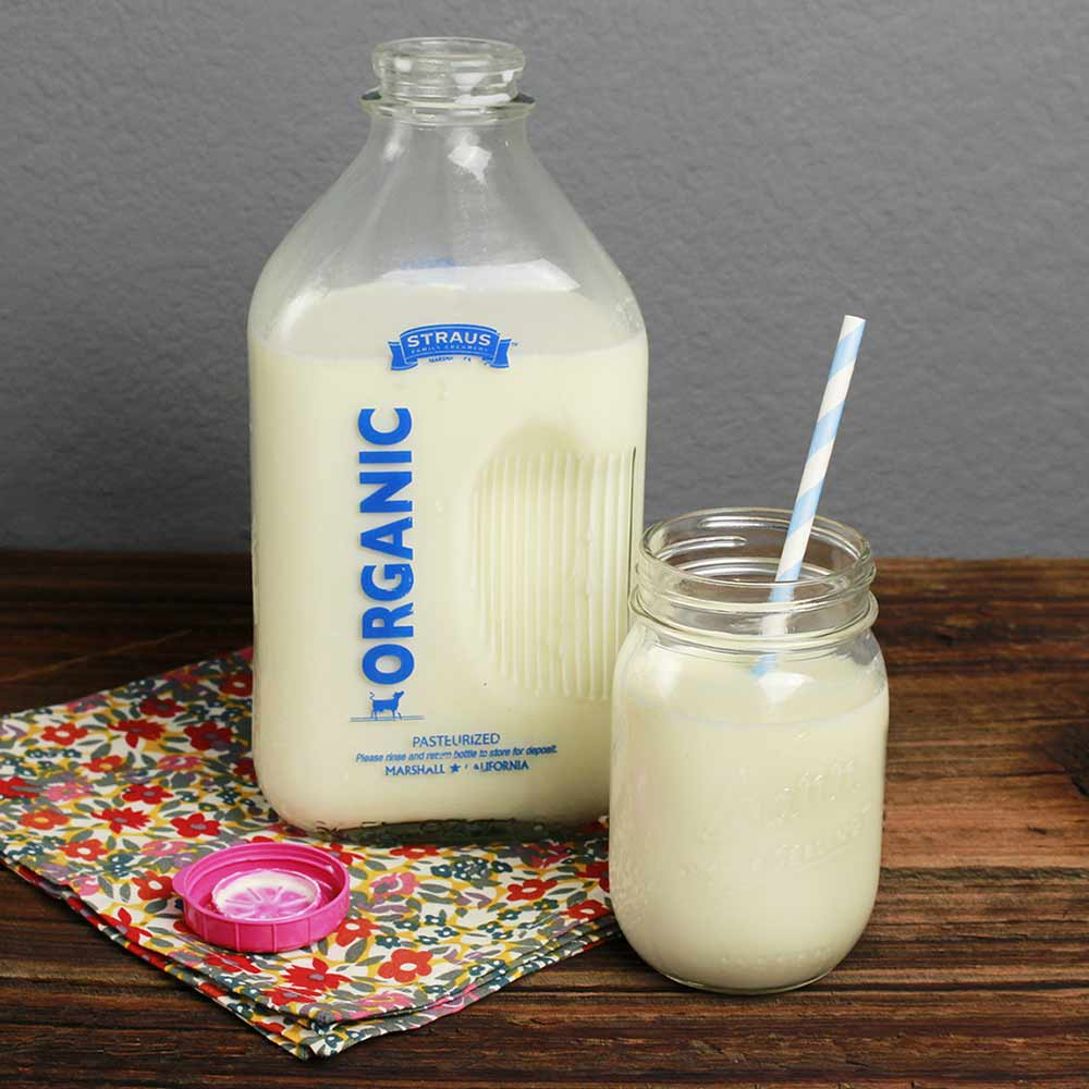 Organic Reduced Fat Milk, Half Gallon