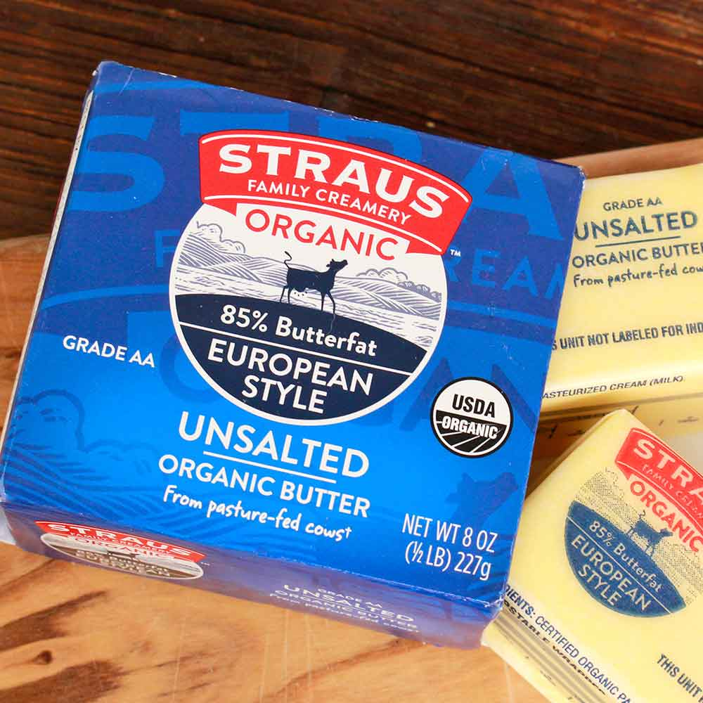 Organic Sweet Unsalted Butter