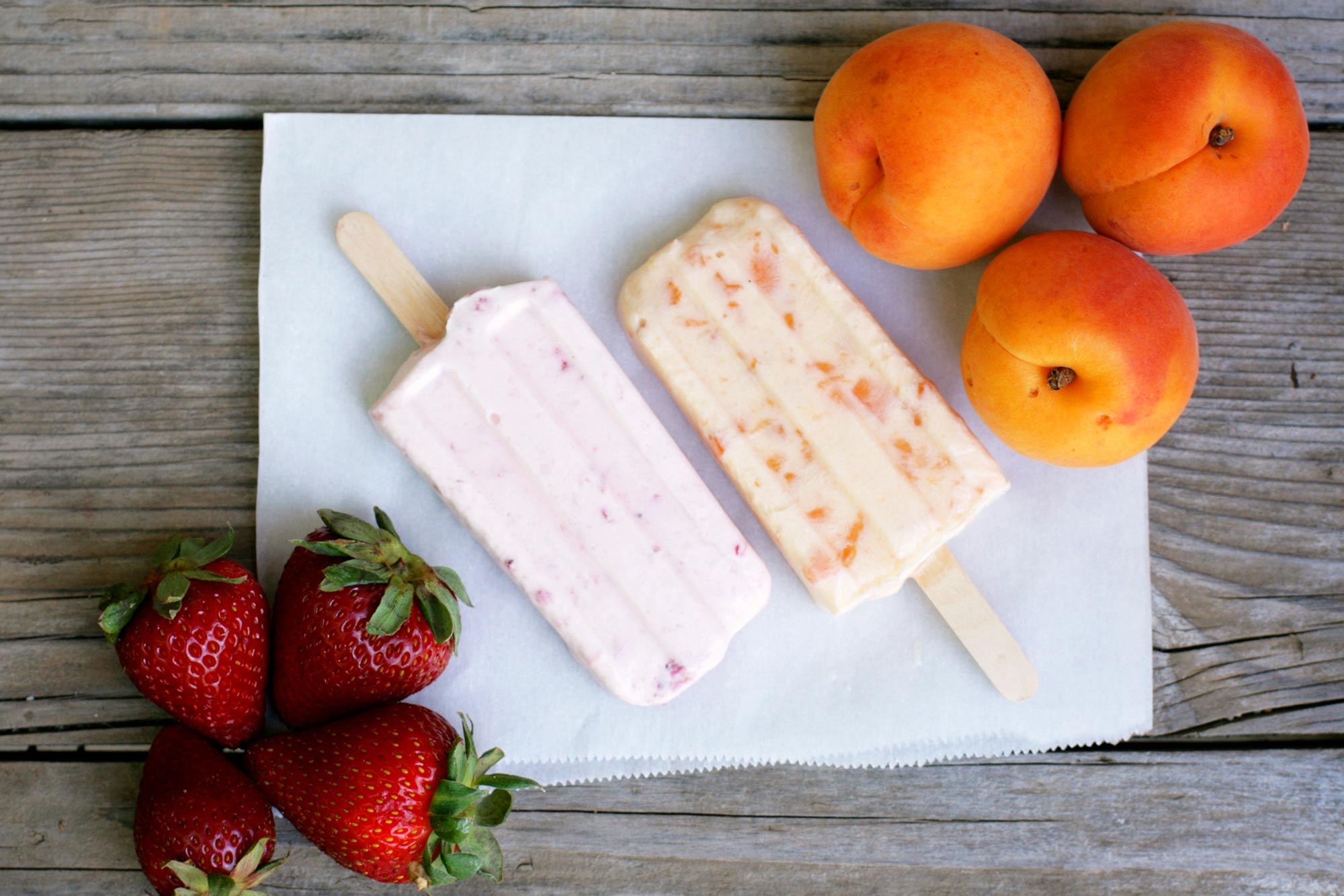 Apricot Honey Popsicle