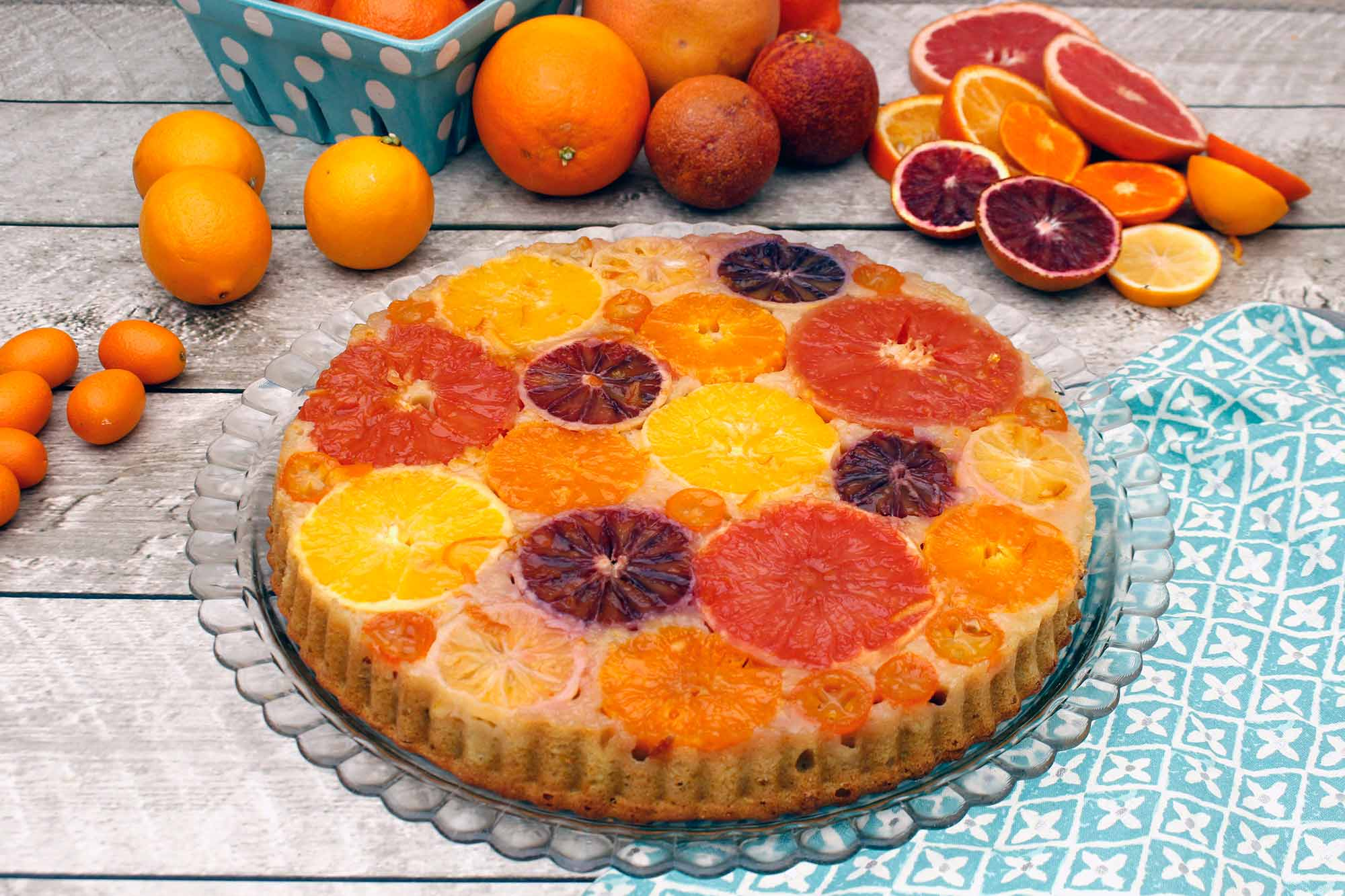 Winter Citrus Upside-Down Cake